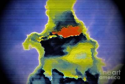 Rorschach Digital Art - The Ink Blot by Gwyn Newcombe