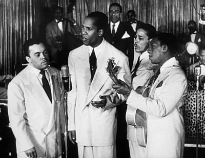 The Ink Spots, C1945 Print by Granger