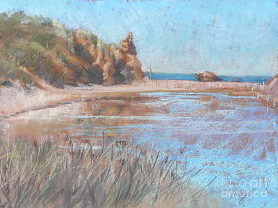 Painting - The Inlet by Pamela Pretty