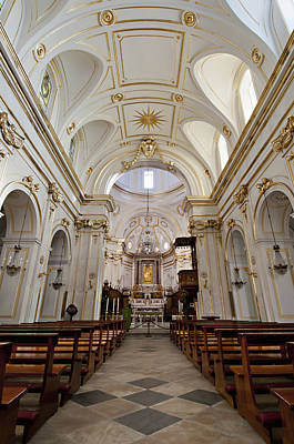 Y120907 Photograph - The Interior Of Santa Maria Assunta by Driendl Group