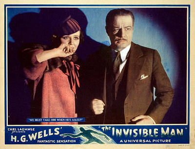 The Invisible Man, Gloria Stuart Art Print by Everett