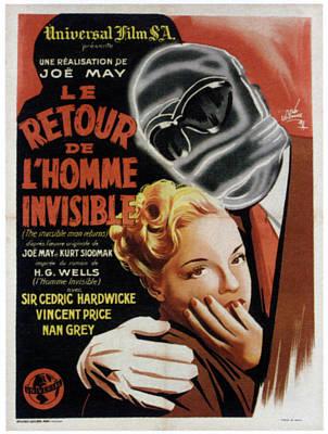 The Invisible Man Returns Aka Le Retour Art Print
