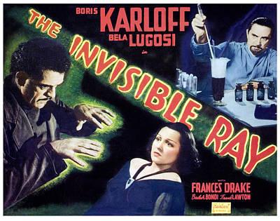 The Invisible Ray, Boris Karloff Print by Everett