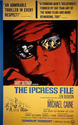 Postv Photograph - The Ipcress File, Michael Caine, 1965 by Everett