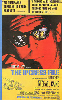 The Ipcress File Art Print by Georgia Fowler