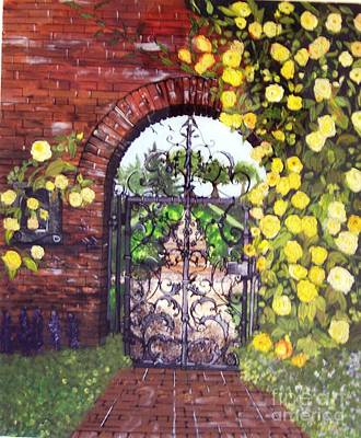The Iron Gate Art Print