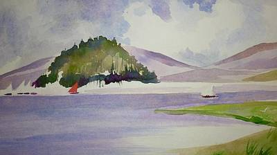 Painting - The Island by Parag Pendharkar