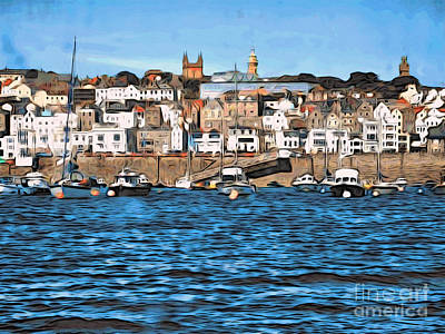Photograph - The Isle Of Guernsey by Phyllis Kaltenbach
