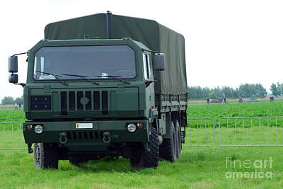 The Iveco M250 8 Ton Truck Print by Luc De Jaeger