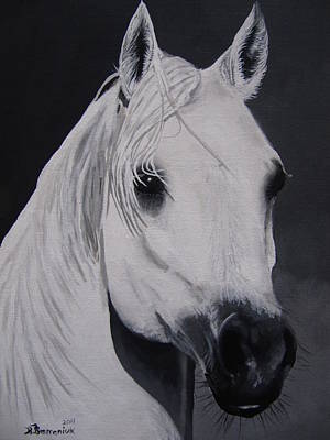 Soft Head Painting - The Ivory Queen by Kayleigh Semeniuk