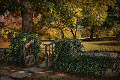 The Ivy Gate Art Print by Robin-Lee Vieira