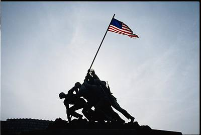 War Monuments And Shrines Photograph - The Iwo Jima Memorial by Stephen St. John