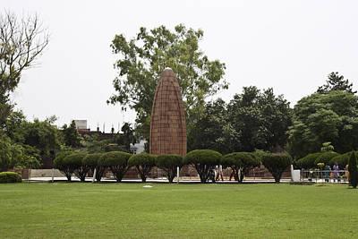 Art Print featuring the photograph The Jallianwala Bagh Memorial In Amritsar by Ashish Agarwal