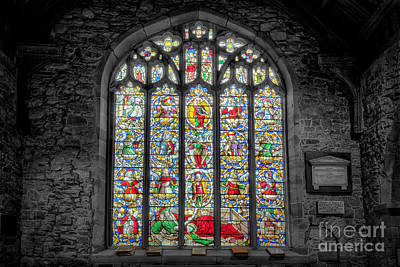 Grave Photograph - The Jesse Window  by Adrian Evans