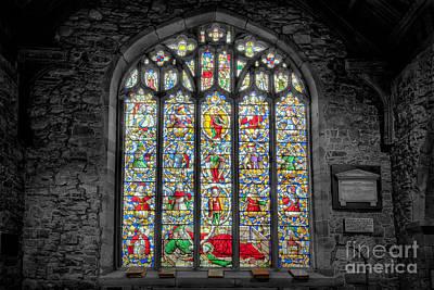 The Jesse Window  Art Print by Adrian Evans
