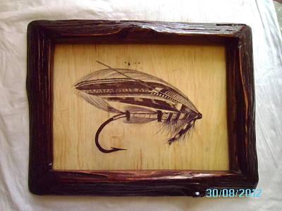 The Jock Scott Salmon Fly Original by Peter Kaniaru