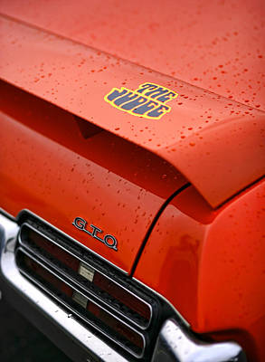 Photograph - The Judge - Pontiac Gto by Gordon Dean II