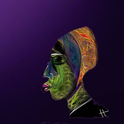 Digital Esoteric Digital Art - The Ka by Hayrettin Karaerkek