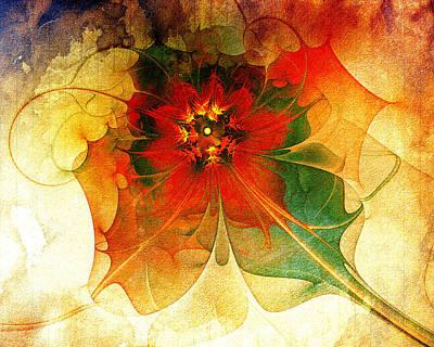 Floral Digital Art Digital Art - The Keepsake by Amanda Moore