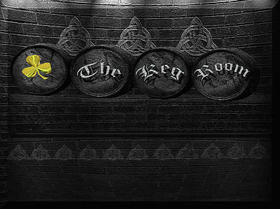 Irish Photograph - The Keg Room Version 2 by LeeAnn McLaneGoetz McLaneGoetzStudioLLCcom