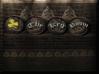 Photograph - The Keg Room Version 4 by LeeAnn McLaneGoetz McLaneGoetzStudioLLCcom