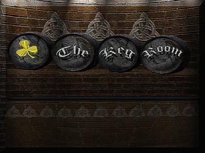 Photograph - The Keg Room Version 6 by LeeAnn McLaneGoetz McLaneGoetzStudioLLCcom