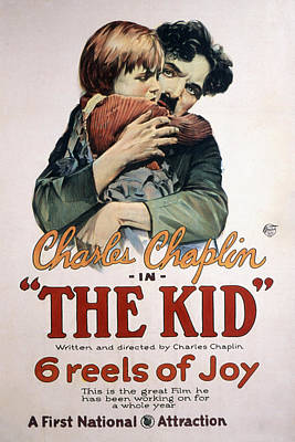 Postv Photograph - The Kid, Jackie Coogan, Charles by Everett