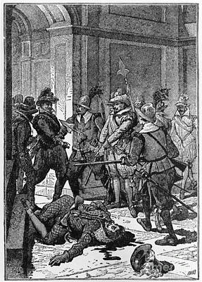 Colonial Man Photograph - The Killing Of Pizarro, 1541 by Photo Researchers