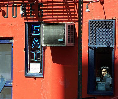 East Village Photograph - The King Lives by Steven Huszar