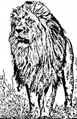 The King Art Print by Lori Jackson