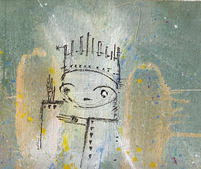 The Kings 2  Art Print by Mark M  Mellon