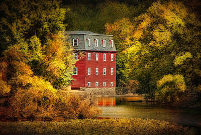 The Kingston Mill Art Print