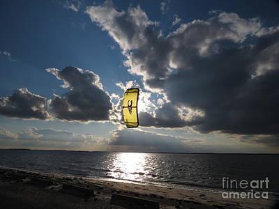 The Kite Art Print by Rrrose Pix