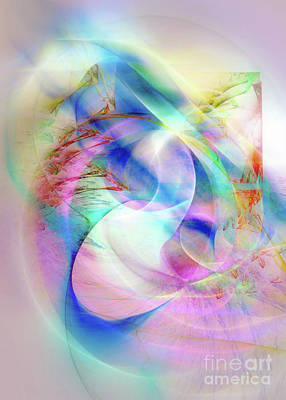 Digital Art - The Knot Of Time 10 by Helene Kippert