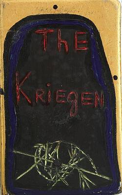 Darren Mixed Media - The Kriegen by Darrell Black