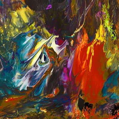 Colored Pencils - The Kuckucks Nest by Miki De Goodaboom