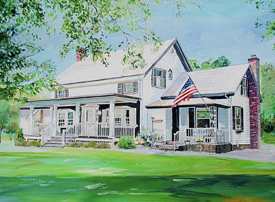 Painting - The Labeau Home by P Anthony Visco
