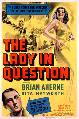 Postv Photograph - The Lady In Question, Brian Aherne by Everett