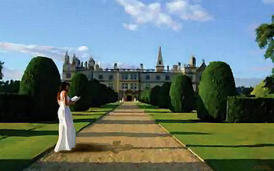 Painting - The Lady Of Burghley House by Jann Paxton