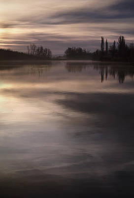 Photograph - The Lake by Akos Kozari