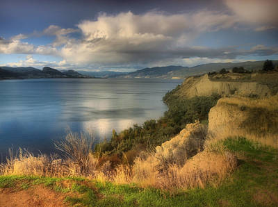 Photograph - The Lake In October by Tara Turner