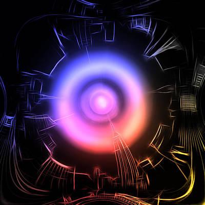 Space Invaders Digital Art - The Landing by Steve K