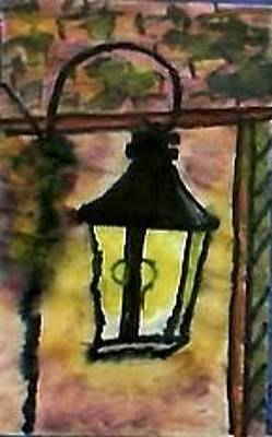 Painting - The Lantern by Anna Lewis