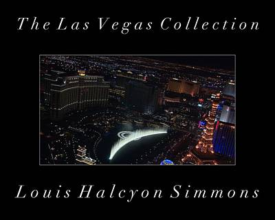 The Las Vegas Collection Art Print by Louis Simmons