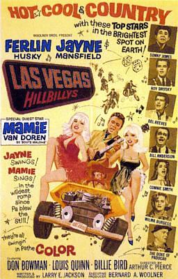 The Las Vegas Hillbillies, In Vehicle Art Print