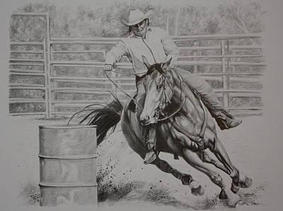 The Last Barrel Art Print by Tammy  Taylor