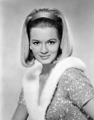 1960s Hairstyles Photograph - The Last Challenge, Angie Dickinson by Everett
