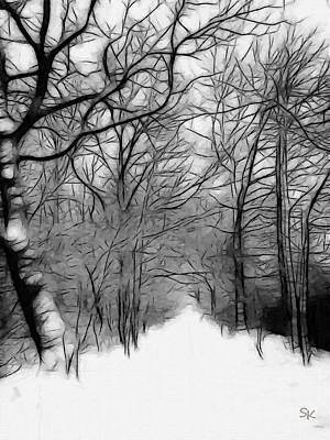 The Last Path Art Print by Steve K