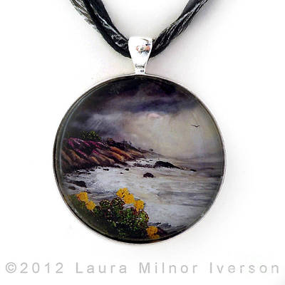 Jewelry - The Last Storm Pendant by Laura Iverson