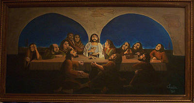 Painting - The Last Supper by Charlie Harris